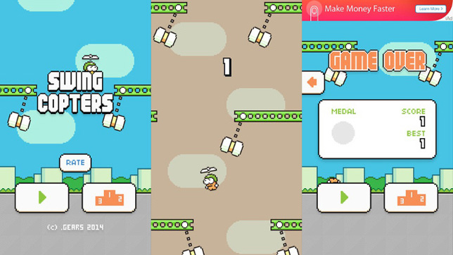 swing copters para android