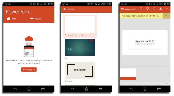 power point para android