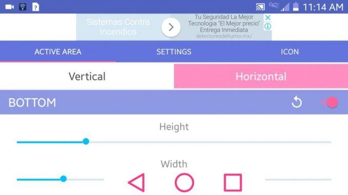 Aplicación simple control para android