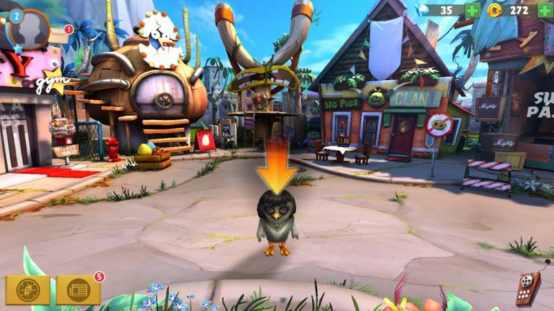 Angry Birds Evolution - Combates cerdos y pájaros.