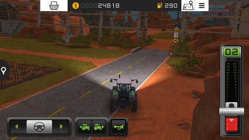 Conduce tractores y maquinaria de agricultura