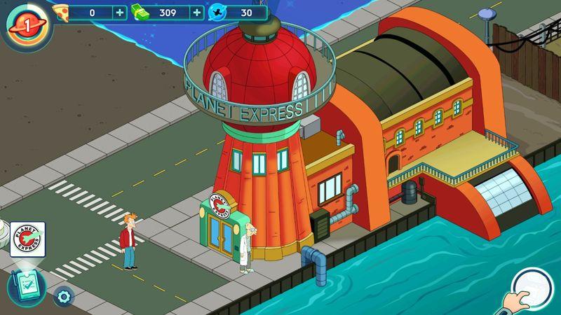 Completa misiones, supera niveles y construye edificios.