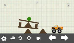 Conduce la figura verde al camión 4x4